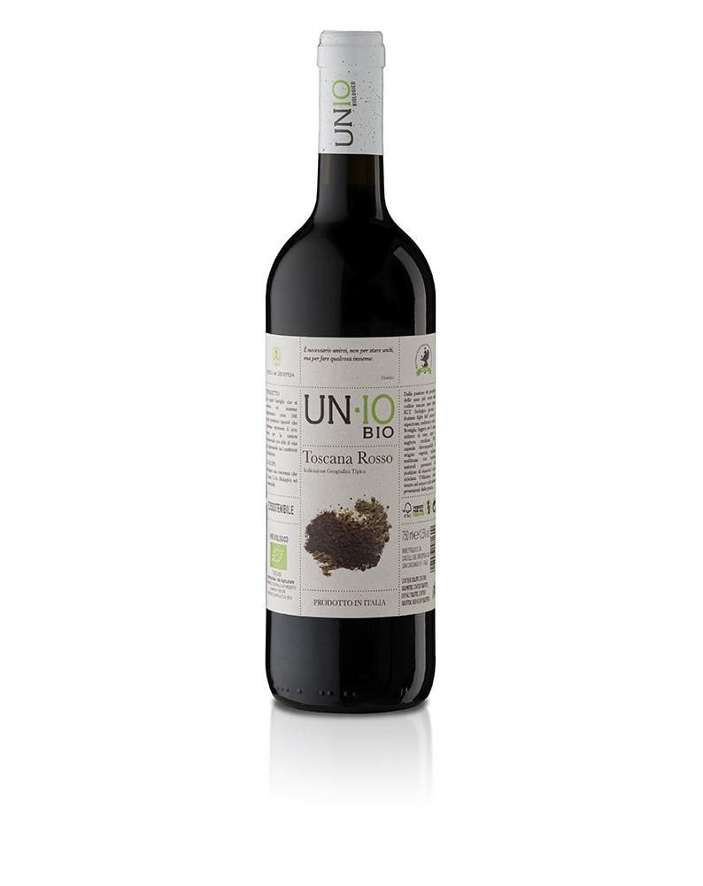 UN-IO BIO Toscana Rosso IGT 50/50 750ml