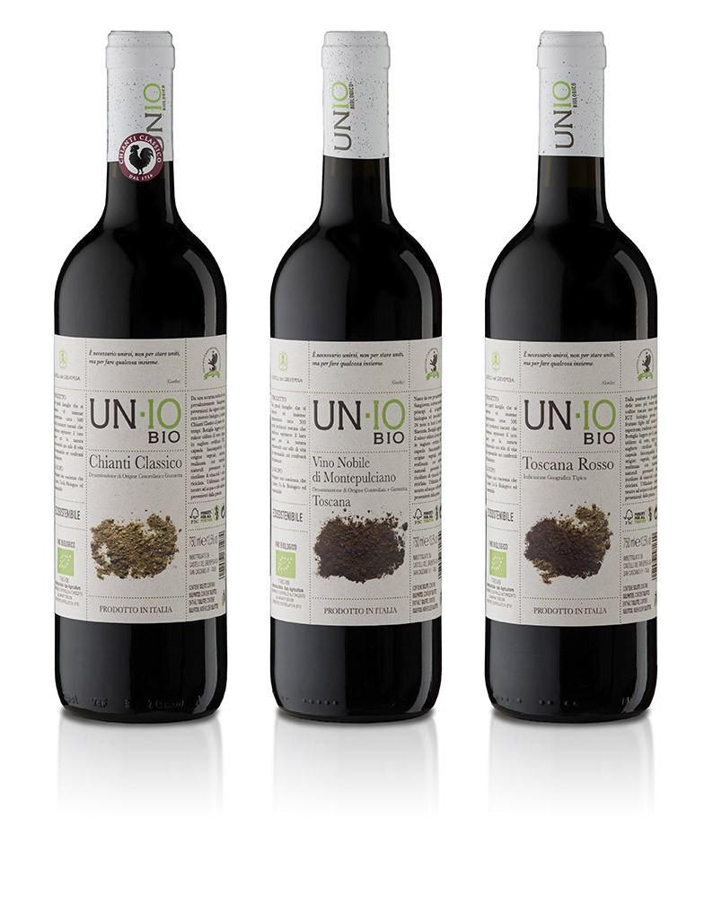UN-IO BIO Organic Wine Collection 3x750ml